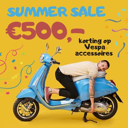 Scooterwinkel Scooterspot Amsterdam Vespa Piaggio Sym Kymco AGM korting accessoires
