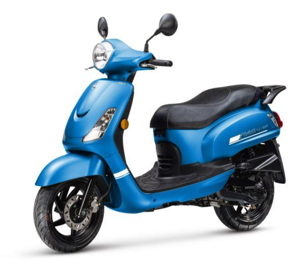 Sym Fiddle II E5 scooters