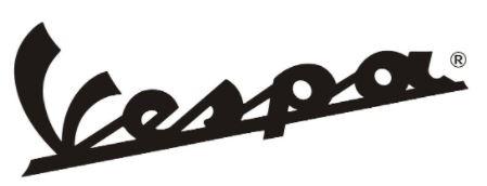 Vespa scooters logo