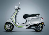 Vespa Elettrica Aluminium/green