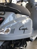 Santini Capri 2.0 Nardo Grey scooter rechtsachter