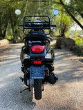 Santini Capri Scooter Glans Zwart achterkant