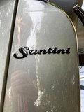 Santini Capri scooter Meteor Grey voorkant