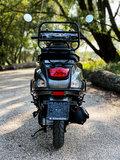 Santini Capri scooter Meteor Grey achterkant