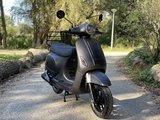 Santini Capri Digital scooter Matzwart Metallic MY2021