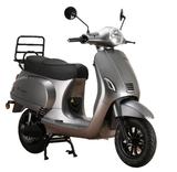 Santini e-Capri elektrische scooter Meteor Grey rechtsvoor