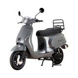 Santini e-Capri elektrische scooter Meteor Grey linksvoor