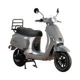 Santini e-Capri elektrische scooter Meteor Grey rechtsvoor2