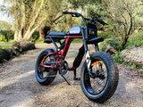 Super 73 RX Carmine Red rood rechtsvoor