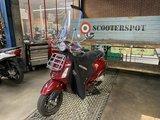 Vespa Primavera Touring I-GET E4 Rosso 45km/u 2018_