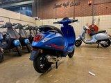 Vespa Sprint S Blue Vivace Matblauw E5 I-GET scooter_