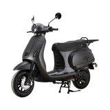 Santini Capri Digital Scooter Matzwart Metallic MY2021 linksvoor