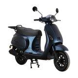 Santini Capri Digital scooter Opaco Blu Scuro matblauw rechtsvoor