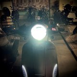 Santini Capri Digital Army LED verlichting met Koplamp aan