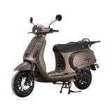 Santini Capri Digital scooter Opaco Cioccolato matbrons metallic linksvoor