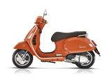 Vespa Gts 300 hpe e5 oranje motorscooter links
