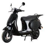 Santini e-Capri 3.0 Elektrische scooter zwart linksvoor