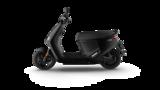 Segway E110SE Elektrische scooter matzwart jet black matt zijkant links