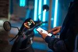 Segway E110SE Elektrische scooter matzwart jet black matt app connect smartphone