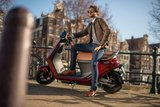 Segway E125s Elektrische scooters Rood Ruby Red