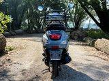 Santini Capri Nardo Grey scooter achterkant