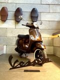 Vespa LX Marrakech Brown_