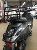 Custom Vespa Sprint Grigio Targa_