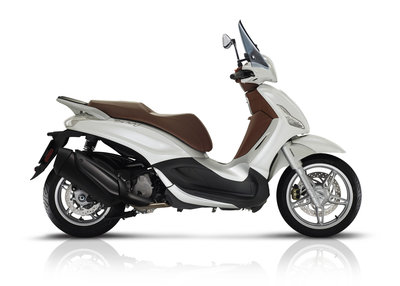 Piaggio Beverly 350 Bianco ABS/ASR Wit