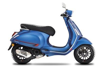 Vespa Sprint S Blue Vivace E4 I-GET scooter