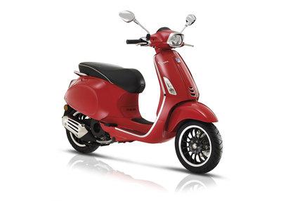 Vespa Sprint 125cc Rosso Rood