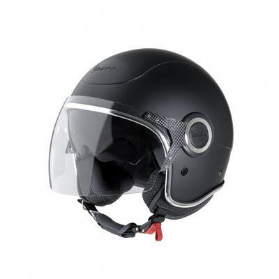 Vespa Helm VJ Matzwart