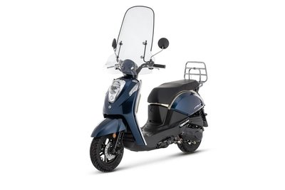 Sym Mio 50i Premium Blauw (Dark Blue) E4
