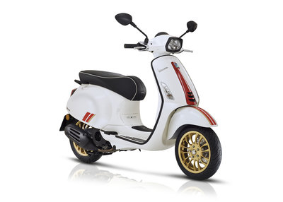 Vespa Sprint Racing Sixties Wit E4 I-GET