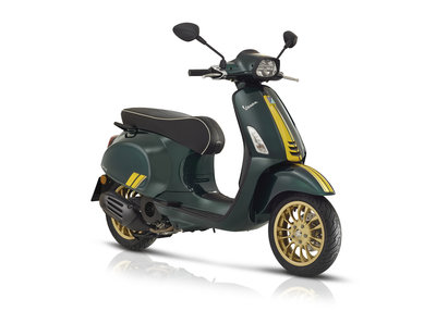 Vespa Sprint Racing Sixties Groen E4 I-GET