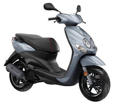 Yamaha Neo's 4 Nimbus Grey (Nardo grey grijs) scooter
