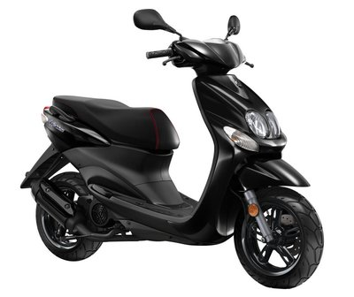 Yamaha Neo's 4 Black (Glanszwart) scooter