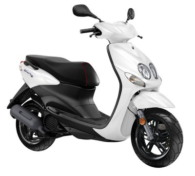 Yamaha Neo's 4 Competition White (Wit) scooter