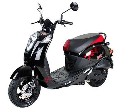 Sym Mio Black Sport II scooter