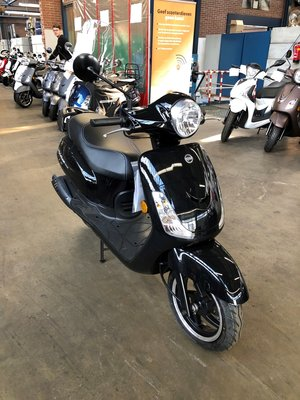 Sym Fiddle II Zwart E4 45km/u (OUTLET)