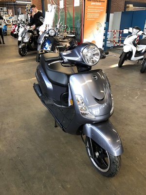Sym Fiddle II Steel Blue E4 25km/u (OUTLET)