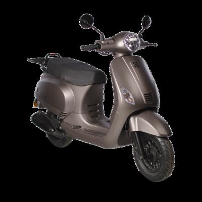 AGM VX50 injectie matbruin titanium scooter