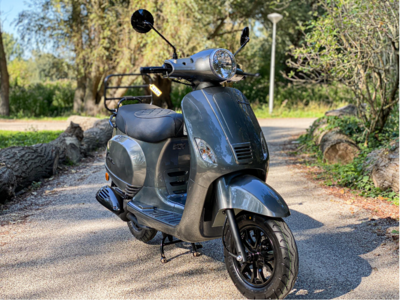 Santini Capri EFI Scooter Meteor Grey 2021 E5