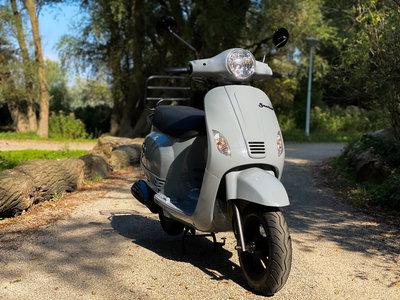 Santini Capri EFI Scooter Nardo Grey 2021 E5