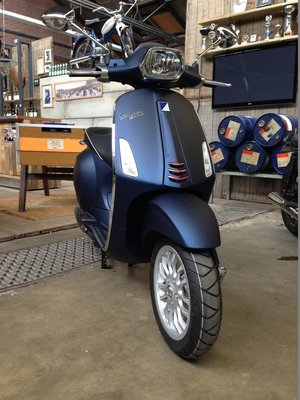 Vespa Sprint Opaco Blu Midnight