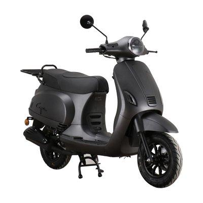 Santini Capri Digital EFI Scooter Matzwart 2021 E5
