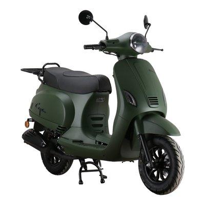 Santini Capri Digital EFI Scooter Matgroen 2021 E5