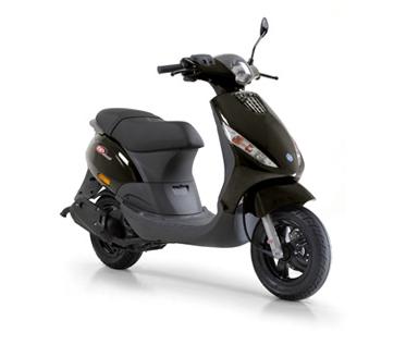 Piaggio Zip 4-takt I-GET Zwart E4