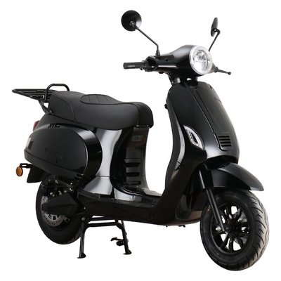 Santini e-Capri Elektrische Scooter Glanszwart