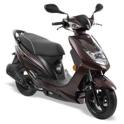 Kymco VP50 Renault bruin scooter