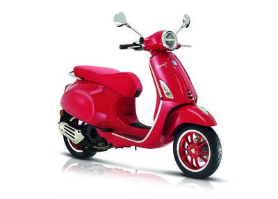 Vespa Primavera Red Edition E5 I-GET